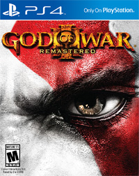 God of War III Remastered (PS4 cover