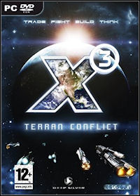 Game Box for X3 Terran Conflict (PC)
