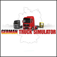 Game Box for German Truck Simulator (PC)