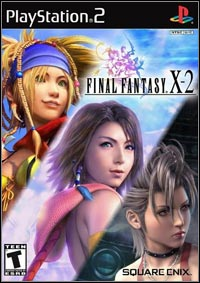 Game Box for Final Fantasy X-2 (PS2)