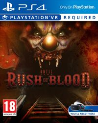 Game Box for Until Dawn: Rush of Blood (PS4)