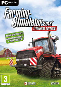 Game Box for Farming Simulator 2013: Titanium Edition (PC)
