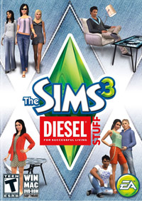 Game Box for The Sims 3 Diesel Stuff (PC)