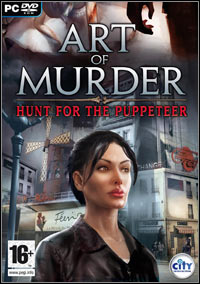 Game Box for Art of Murder: Hunt for the Puppeteer (PC)