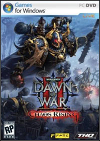 Game Box for Warhammer 40,000: Dawn of War II - Chaos Rising (PC)