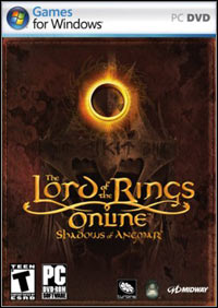Game Box for The Lord of the Rings Online: Shadows of Angmar (PC)