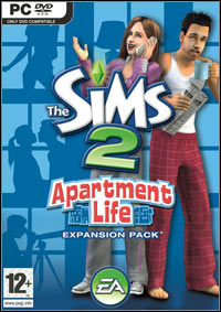 Game Box for The Sims 2: Apartment Life (PC)