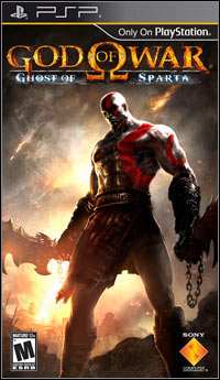 Game Box for God of War: Ghost of Sparta (PSP)