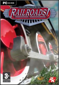 Game Box for Sid Meier's Railroads! (PC)