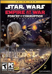 Game Box for Star Wars: Empire at War - Forces of Corruption (PC)