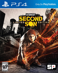 Game Box for inFamous: Second Son (PS4)