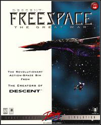 Game Box for Descent Freespace: The Great War (PC)