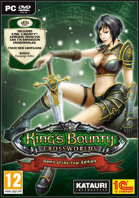 Game Box for King's Bounty: Crossworlds Game of the Year Edition (PC)