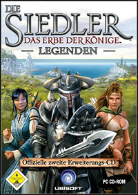 The Settlers: Heritage of Kings - Legends (PC cover