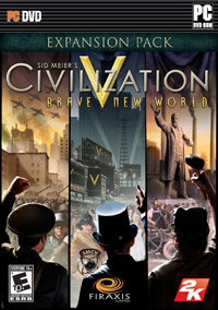 Game Box for Sid Meier's Civilization V: Brave New World (PC)
