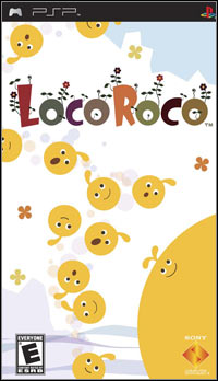 Game Box for LocoRoco (PSP)