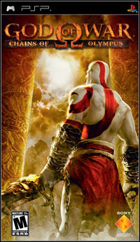 Game Box for God of War: Chains of Olympus (PSP)