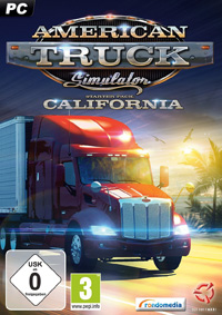 Game Box for American Truck Simulator (PC)