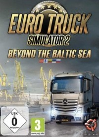 Game Box for Euro Truck Simulator 2: Beyond the Baltic Sea (PC)