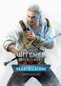 The Witcher 3: Hearts of Stone cover