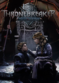 Thronebreaker: The Witcher Tales (AND cover