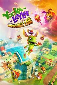 Yooka-Laylee and the Impossible Lair (PC cover