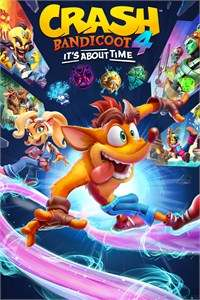 Game Box for Crash Bandicoot 4: It's About Time (PC)