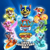 Game Box for PAW Patrol: Mighty Pups Save Adventure Bay (PC)