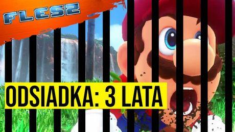 Gdy idziesz do więzienia, bo okradłeś Mario. FLESZ - 2 grudnia 2020
