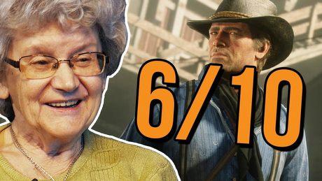 Babcia ocenia grafikę z gier