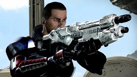 Gramy w Mass Effect 3 - walka