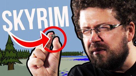 Przy tej grze Skyrim jest MIKROSKOPIJNY