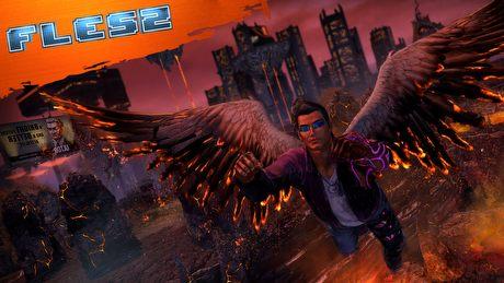 FLESZ – 16 października 2014. Saints Row 4: Gat out of Hell prezentuje piekielną broń