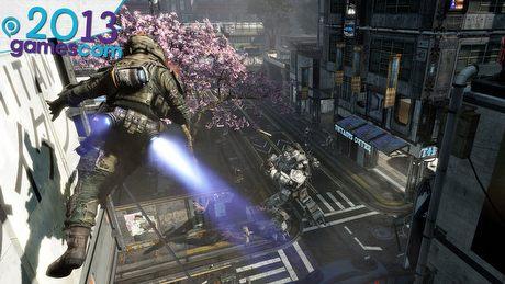 Opad szczęki w Titanfall - gamescom 2013