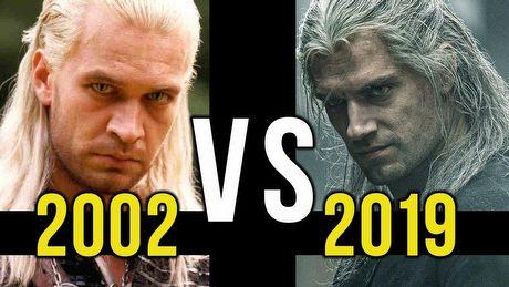 Wiedźmin 2002 vs Wiedźmin 2019 - porównujemy seriale