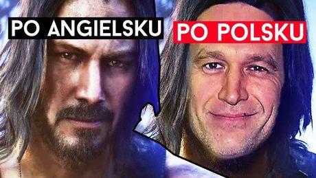 Po co Cyberpunkowi 2077 polski dubbing