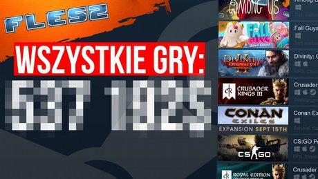 Ile kosztują WSZYSTKIE gry ze Steam? FLESZ – 14 września 2020