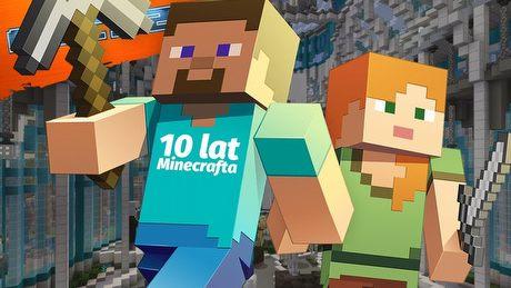 Historia Minecrafta przedstawiona na olbrzymiej mapie