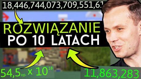 Jak rozwiązano największą tajemnicę Minecrafta