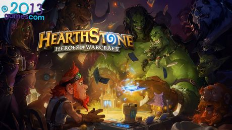 Pojedynek w  Hearthstone: Heroes of Warcraft - gamescom 2013