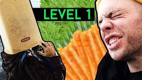 Absurdy grania postacią na 1 levelu