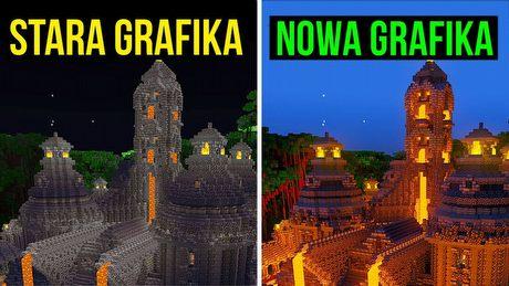 Jak po 11 latach poprawiono grafikę Minecrafta