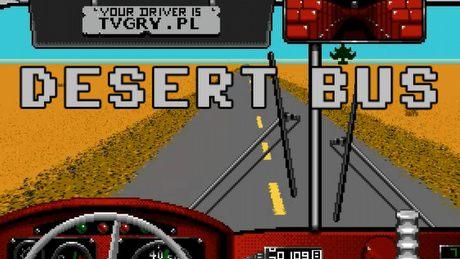 Gra, w której NIC SIĘ NIE DZIEJE. Czym jest Desert Bus?