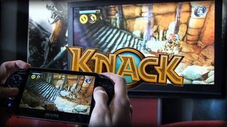 Knack w co-opie, czyli mariaż PS4 z PS Vita