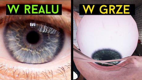 Dlaczego oczy w grach są takie DZIWNE