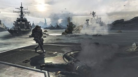 Modern Warfare 3 - pod wodą i nad wodą