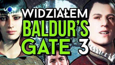 Widziałem BALDUR'S GATE 3! Pierwszy gameplay i opinia