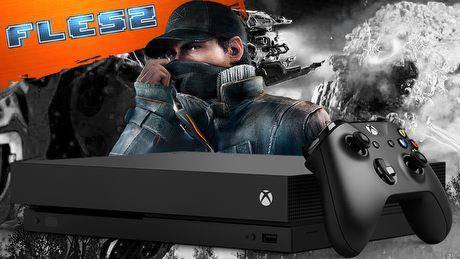 Xbox One X straszy mocą. FLESZ – 7 listopada 2017