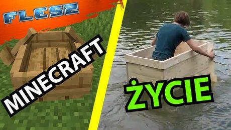 Jak wygląda Minecraft w rzeczywistości? FLESZ - 20 lipca 2021