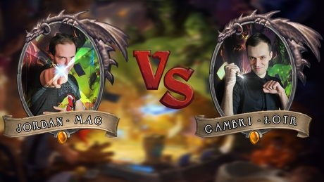 Turniej Hearthstone - Gambrinus vs Jordan